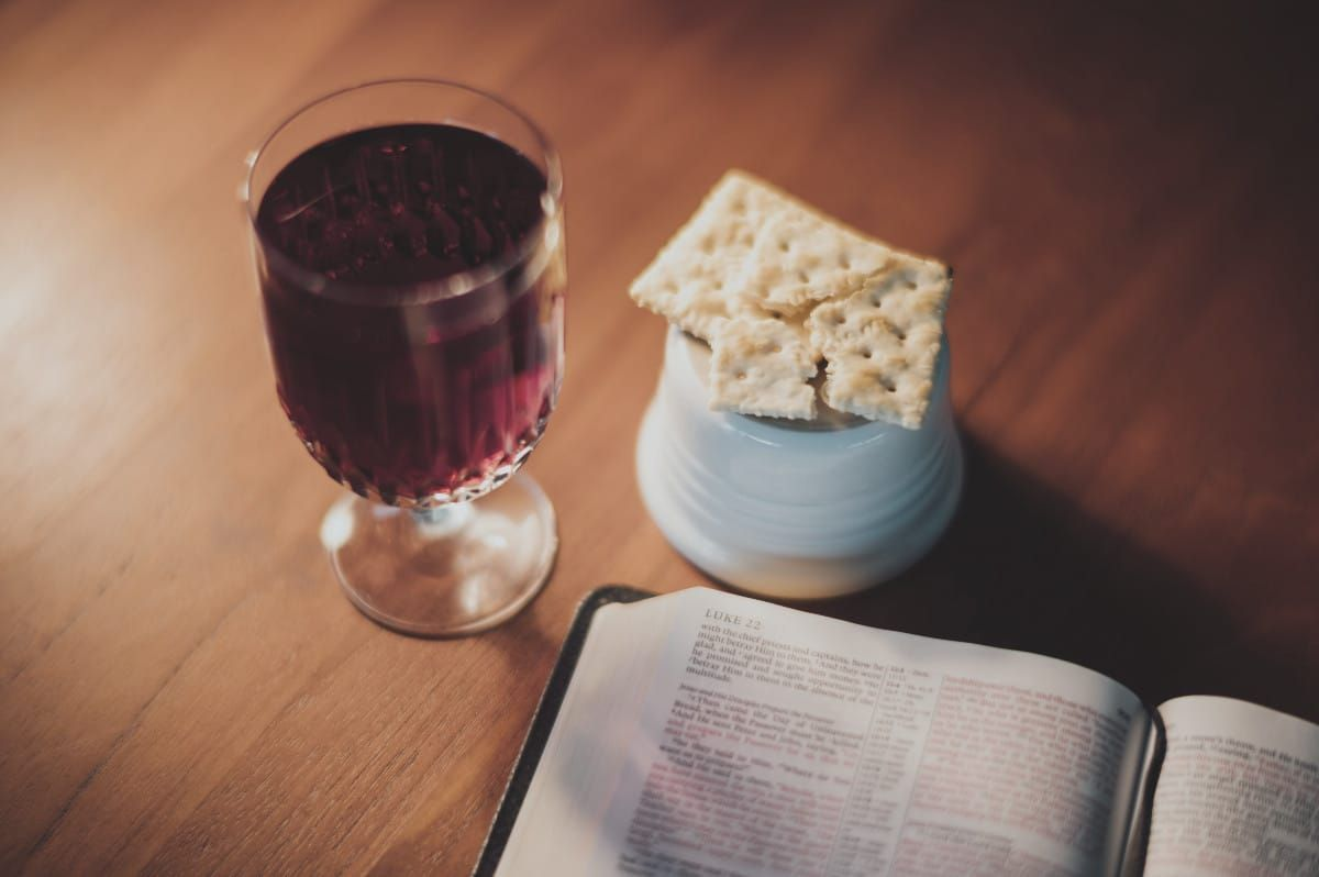 communion scriptures